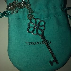 Tiffany & Co. Large Open Knot Key Pendant